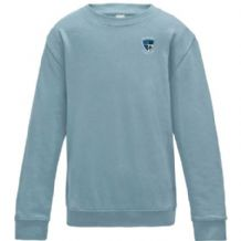 "Ballymoney Hockey Club ""TOTS"" AWDis Kids Sweatshirt Sky Blue 2019"